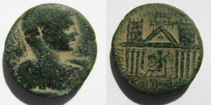 Ancient Coins - Decapolis. Capitolias.Caracalla(?). 198-217  A.D.