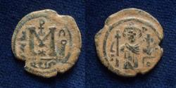 Ancient Coins - ISLAMIC, Umayyad Caliphate (Arab–Byzantine coinage).Damascus mint.