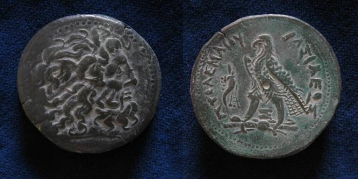 Ancient Coins - PTOLEMAIC KINGS of EGYPT. Ptolemy III Euergetes. 246-222 BC. Æ (42mm/70.6gr).