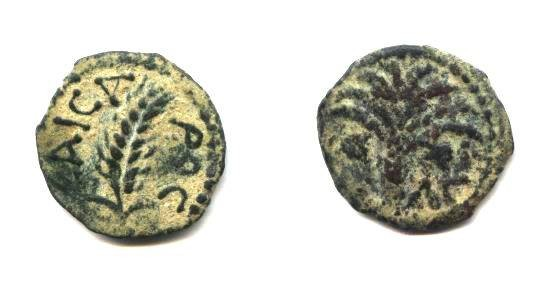 Ancient Coins - Judean, Marcus ambibulus, under Augustus