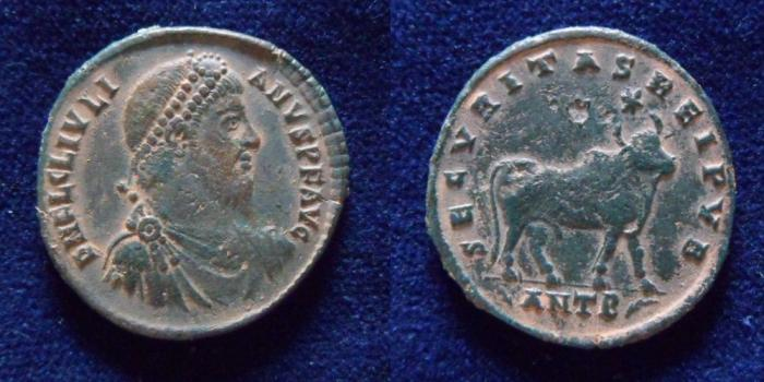 Ancient Coins - Julian II. AD 360-363. Æ (27mm, 8.2gr). Antioch mint.
