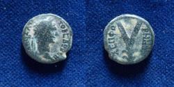 Ancient Coins - JUDAEA, Sepphoris (Diocaesarea). Trajan. AD 98-117.