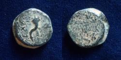 Ancient Coins - JUDAEA, Hasmoneans. Mattathias Antigonus (Mattatayah).40-37 BCE.