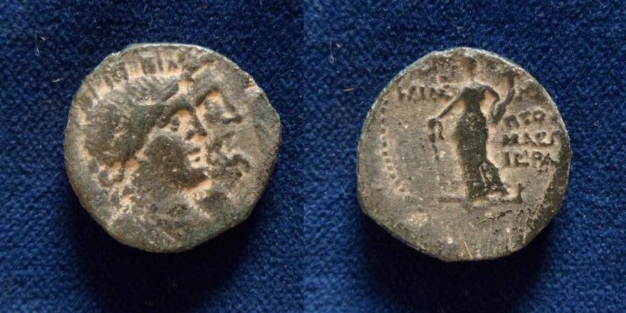 Ancient Coins - Akko-Ptolemais, ca. 1st century BC AE 22.