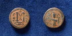 Ancient Coins - ISLAMIC, Umayyad Caliphate. Uncertain period (pre-reform). AH 41-77 / AD 661-697. Æ Fals.