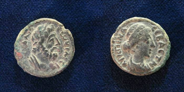 Ancient Coins - Decapolis. Gadara. Crispina. Augusta, AD 178-182. Æ 20mm