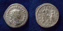 Ancient Coins - Probus. AD 276-282. Antoninianus (22mm, 4.18 g, 1h). Siscia mint. 5th emission, AD 278.