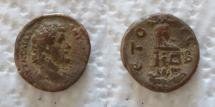 Ancient Coins -  EGYPT, Alexandria. Antoninus Pius. AD 138-161. BI Tetradrachm .