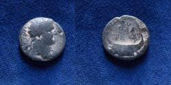 Ancient Coins - JUDAEA, Herodians. Agrippa II, with Titus. Circa 50-100 CE.