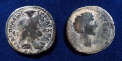 Ancient Coins - JUDAEA, Neapolis. Marcus Aurelius. As Caesar, 139-161 CE.