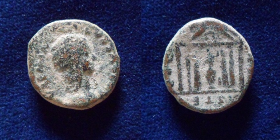 Ancient Coins - JUDAEA, Sebaste. Julia Soemias. Augusta, AD 218-222.