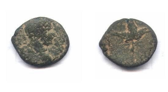 Ancient Coins - Judaea, Aelia Capitolina (Jerusalem). Hadrian 117-138 A.D