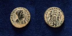 Ancient Coins - Constantine I. AD 307/310-337. Æ Follis (17.5mm). Lugdunum (Lyon) mint,