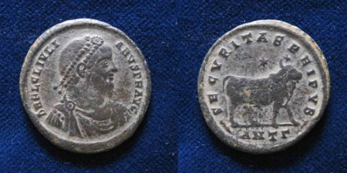 Ancient Coins - JULIAN II, The Apostate. 361-363 a.d. Follis, AE28mm
