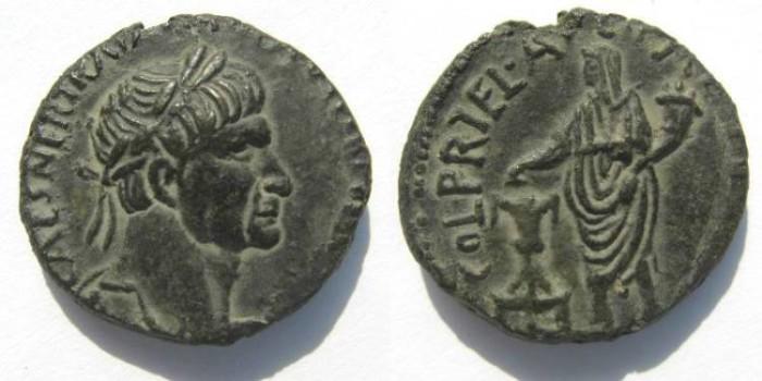 Ancient Coins - Judean, Caesarea of TRAJAN 98-117 A.D.