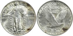 Us Coins - 1926-D Standing Liberty 25C ANACS MS62