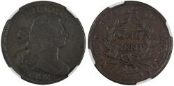 Us Coins - 1802 Large Cent NGC VF20 Brown, S-236