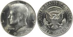 Us Coins - 1974-D 50C Doubled Die Obverse, FS-101 Die 1, ANACS MS65