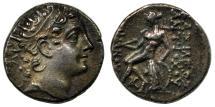 Ancient Coins - Seleucid, AR Drachm, Antiochus VI, 145-142 BC