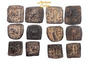 Ancient Coins - Indo-Greek Kingdom. Menander I Soter. Circa 155-130 BC. Lot of 6 AE Units