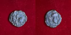 Ancient Coins - Kushano Sasanians, Shapur I AD 240-270. AE unit. RARE