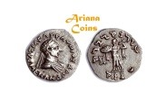 Ancient Coins - Indo-Greek Kingdom. Menander I Soter. Circa 155-130 BC. AR Drachm Superb & faultless