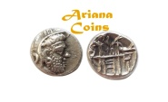 Ancient Coins - Kings of Persis, Vadfradad (Autophradates) II. Early-mid 2nd century BC. AR Drachm.