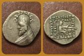 Ancient Coins - Parthian Kings, Phraates III 70-57 B.C AR Drachm. Mithradatkart mint.