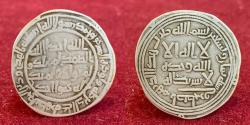 Ancient Coins - Islamic, Umayyad, temp, Sulayman, سليمان بن عبد الملك‎ (96-99h) Silver Dirham. Istakhr 98h.