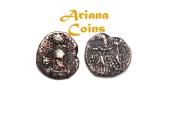 Ancient Coins -  Kushano Sasanians, Ohrmazd (Hormizd) I Kushanshah. Circa AD 265-295. AE Unit. RARE