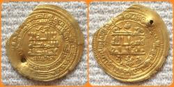 Ancient Coins - Islamic, Ghaznavid. Muhammad, 1st Reign 421AH.(as independent ruler, 389-421 AH). AV Dinar. Rare