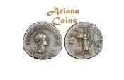 Ancient Coins -  Indo-Greek Kingdom. Menander I Soter. Circa 155-130 BC. AR Drachm