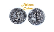 Ancient Coins -  Indo-Greek Kingdom. Menander I Soter. Circa 155-130 BC. AR Drachm Superb