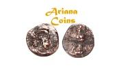 Ancient Coins - Kushano Sasanians, Ohrmazd (Hormizd) I Kushanshah. Circa AD 265-295. AE Unit. Nice example