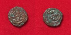 Ancient Coins - Islamic, Arab Sasanian. Anonymous. AH 41-77 / AD 661-697. AE pashiz/Fals.