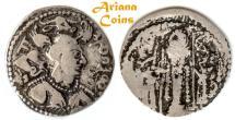 Ancient Coins - Hunnic Tribes, Nezak Huns, Napki Milka?, Ghazna mint, AD 515-650 AD. AR Drachm.