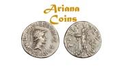 Ancient Coins - Indo-Greek Kingdom. Menander I Soter. Circa 155-130 BC. AR Drachm Superb