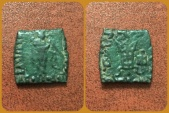Ancient Coins - Bactrian Kings. Apollodotos II. Circa 85-65 BC. Æ Double Unit. Scarce