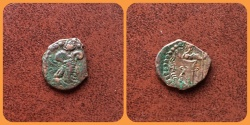 Ancient Coins - Kushano Sasanians, Peroz III Kushanshah. Circa AD 350-375. AE Unit.