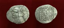 Ancient Coins - Parthian King. Orodes II. Circa 56-38 B.C AR Drachm.