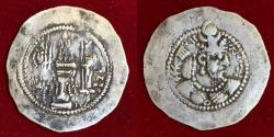Ancient Coins - Sasanian Kings. Yazdgird (Yazdgard) II. AD 438-457. AR Drachm.