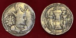 Ancient Coins - Sasanian Kings, Shahpur I. AD 240-272. AR Drachm.