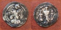 Ancient Coins - Sasanian Kings. Vahram (Bahram) IV. AD 388-399. AR Drachm. (Eastern Style)
