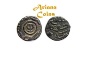 Ancient Coins - Islamic Great Mongols, Chaghatayid Khans. Khutlugh Khwaja. AH 697-698 / AD 1298-1299. AE Jital