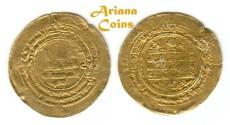 Ancient Coins - Samanid Nasr II b Ahmad, (نصر الثاني بن أحمد , 301-331h), Gold/Dinar.