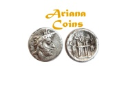 Ancient Coins - Kings of Persis, Uncertain King I. 2nd century BC. AR Hemidrachm.