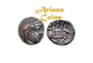 Ancient Coins - Kings of Persis. Darios (Darev) I. 2nd century BC. AR Drachm.. Nice example