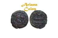 Ancient Coins - Islamic, Tahirids. Talha ibn Tahir. AH 207-213 AH  AE fals. RR