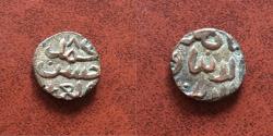 Ancient Coins - Islamic, Qarlughids. Nasir al-Din Muhammad. AH 647-658 / AD 1249-1259. Æ Jital. Rare