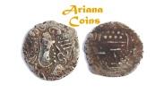 Ancient Coins - LOCAL ISSUES, Gurjura kingdom of Sindh, Uncertain ruler. 570-712 AD. AR Drachm.